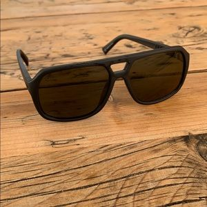 "Electric Aviator Sunglasses, ""The Dude"", black"